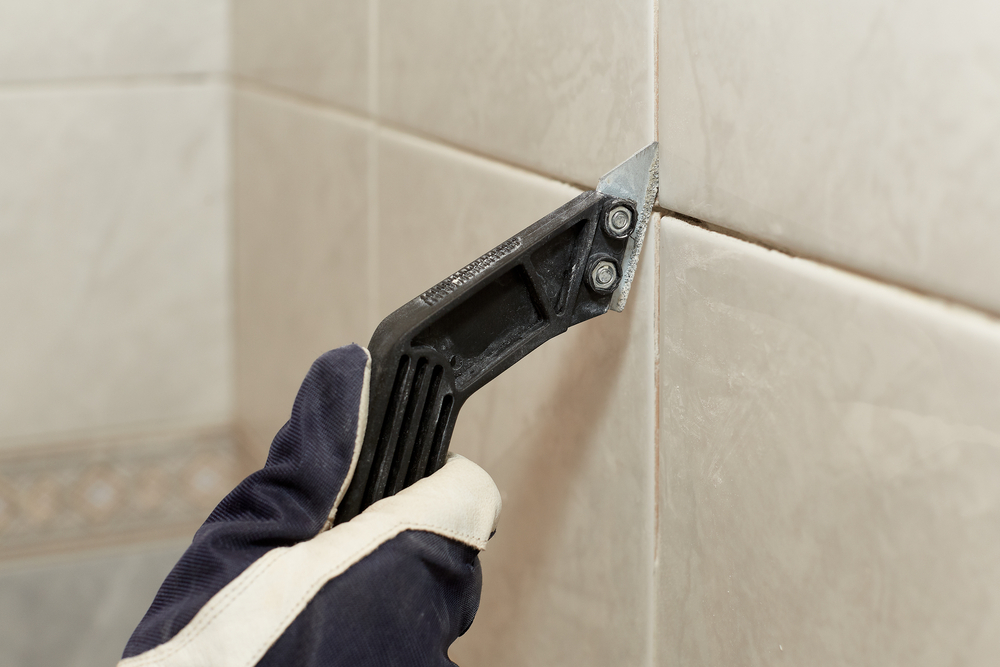 How to Remove and Replace Stained Grout