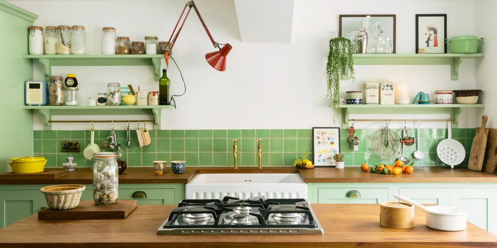 20+ Dreamy Paint Colors for Your Kitchen