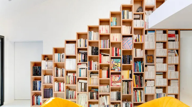 This 'Bookshelf House' Is Every Book Lover's Dream Home