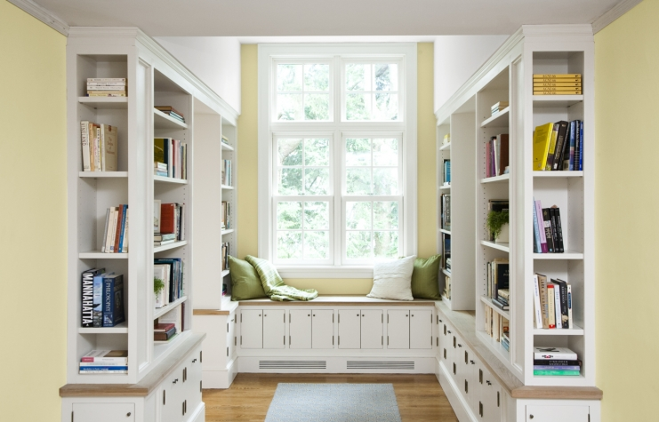 7 Surprising Built-In Bookcase Designs