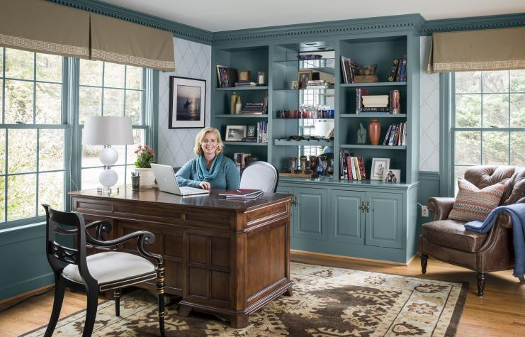 Smartened-Up Home Office Redo