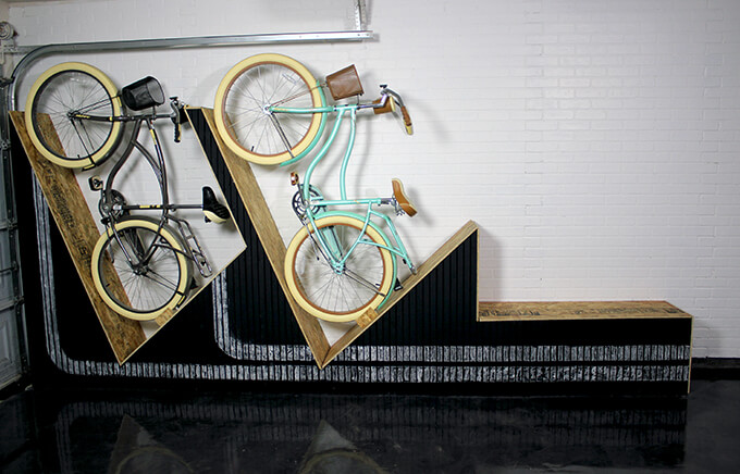 Wall-Mounted Bike Rack, Just in Time for Spring