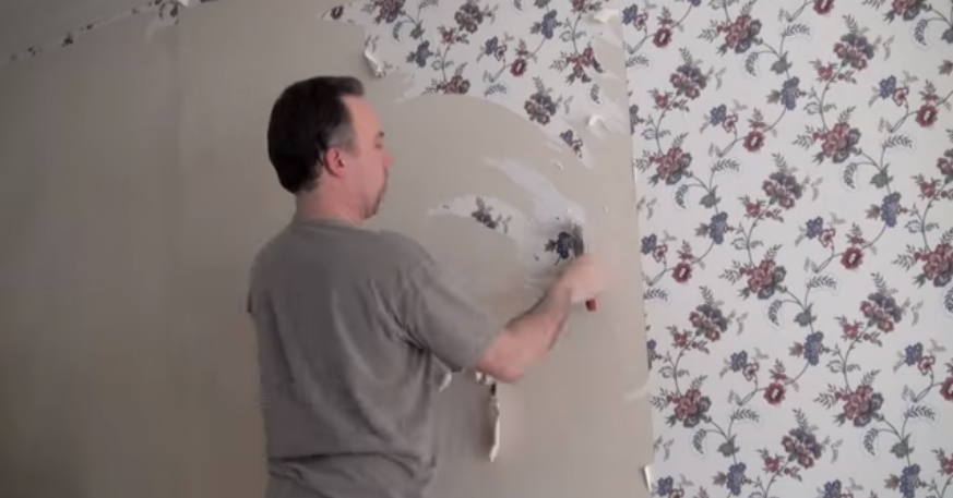How to remove wall paper easily and quickly... the fun way
