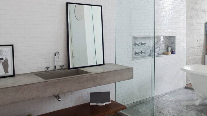 14 Reasons to Use Concrete Countertops in Your Bathroom