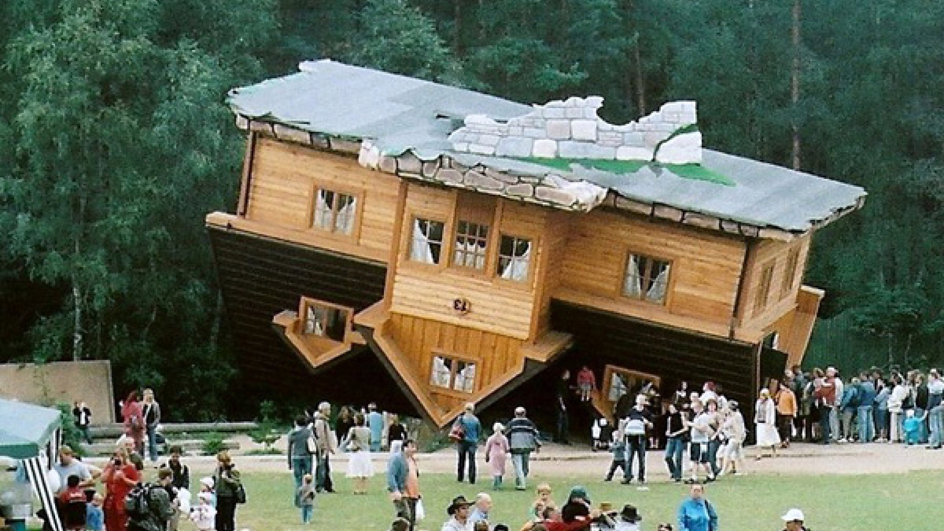 5 Outrageous Stories of Real-Life 'Up' Houses